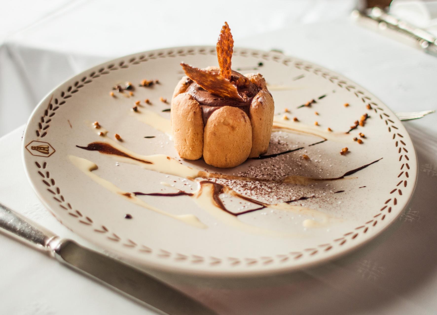 dessert fait maison au chocolat