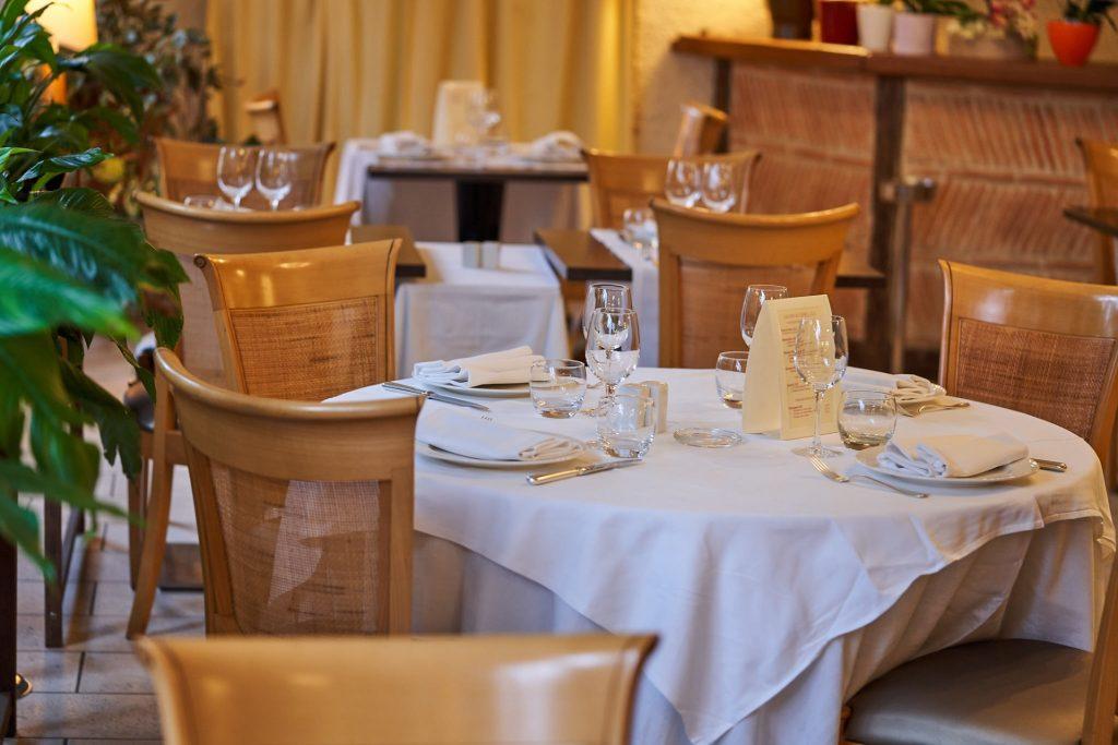 restaurant la flambée salle parc